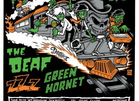 The Sleaze Express op stoom met zZz, The Deaf en Green Hornet