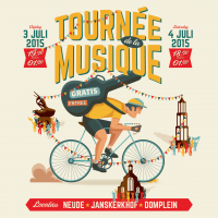 Gratis Tour de la Musique bij start Tour de France