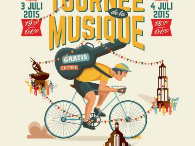 Gratis Tour de la Musique bij start Tour de France