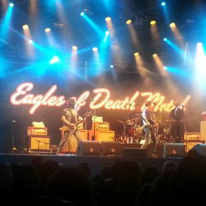 Eagles Of Death Metal ft. Josh Homme op PP15. Foto: Ingmar Griffioen