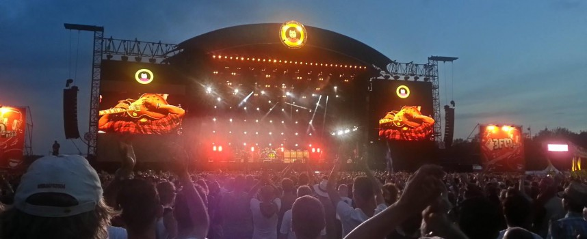 Pinkpop 2015: Grote namen, gebaren en entertainment