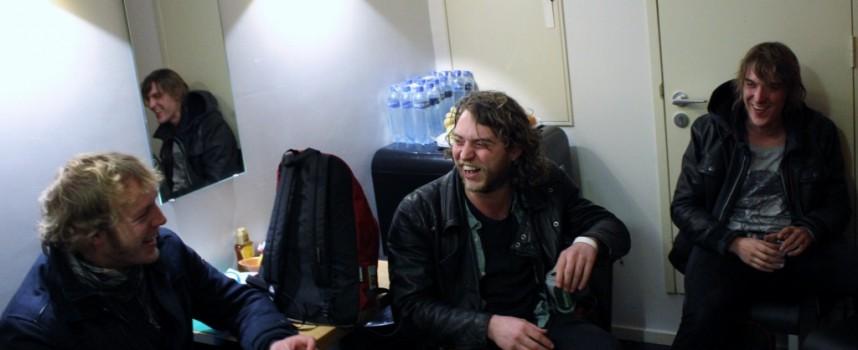 Gert-Jan Gutman (Birth Of Joy) draagt voor uit Het kutleven van Freek Grubbelink