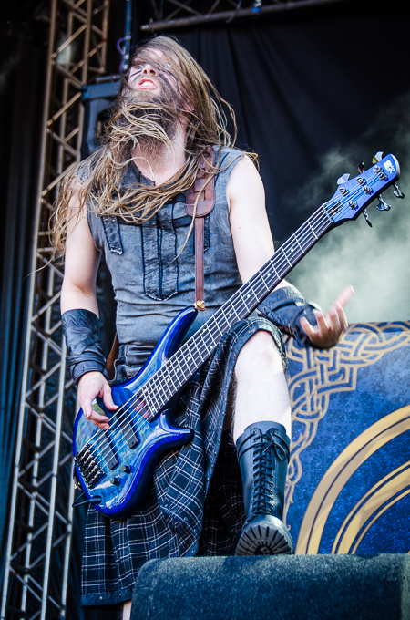 Into The Grave, Ensiferum, foto: Sandra Grootenboer