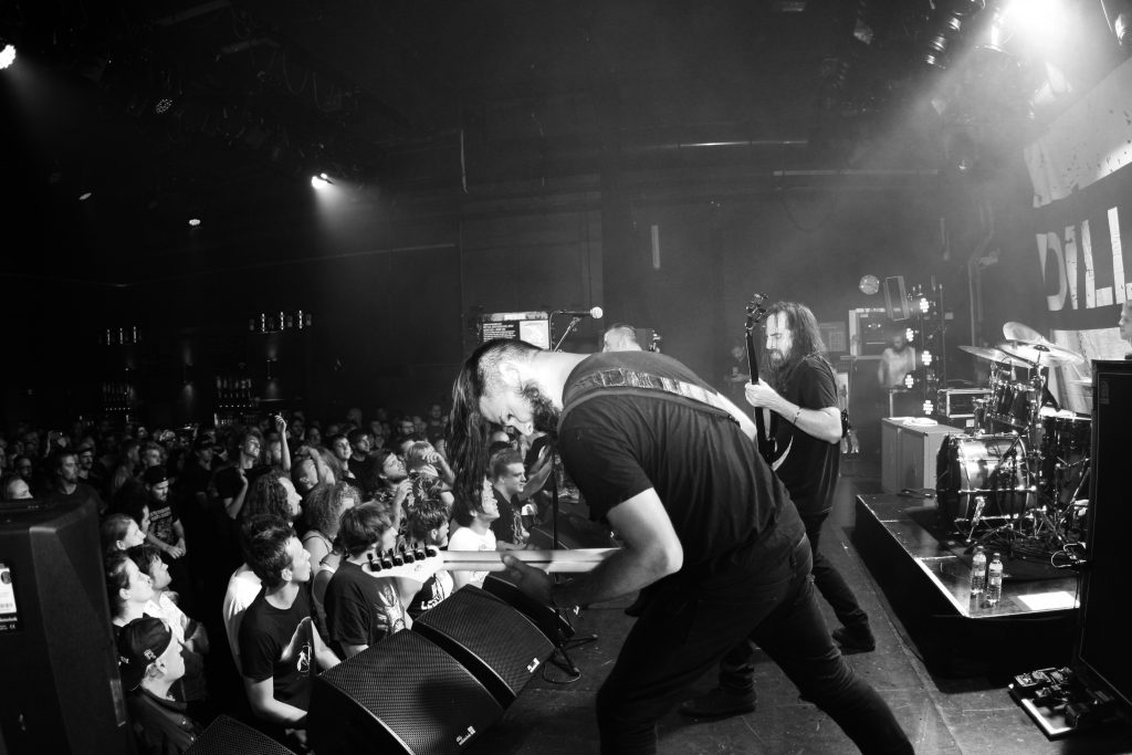 The Dillinger Escape Plan in Bibelot, foto Iris de Jong