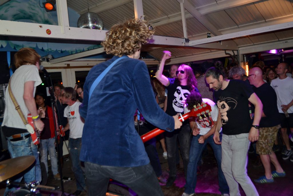 The Afterveins op Sleazefest, foto Ingmar Griffioen