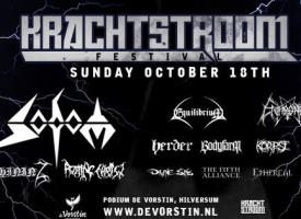 Krachtstroom: Sodom, Shining, Rotting Christ en nog 11 metalbands in De Vorstin