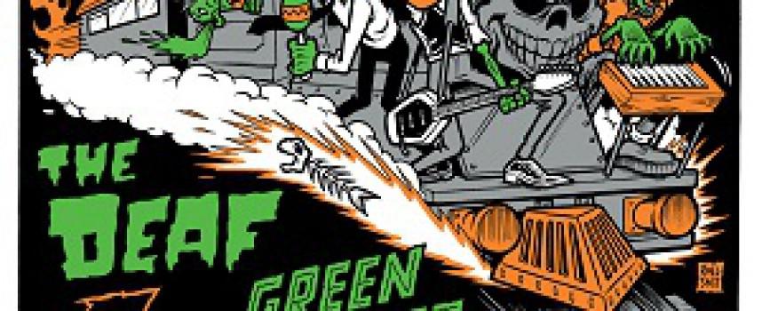 Deze stoomlocomotief op deze stoomloc: met zZz, The Deaf en Green Hornet in The Sleaze Express