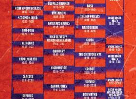 Speedfest: Geen vervanger Eagles Of Death Metal en 1 minuut stilte