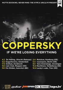 Coppersky Tour poster 2016