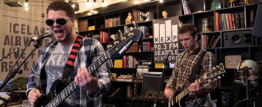 Eurosonic-tip: Pink Street Boys, the 'loudest, sleaziest garageband in Iceland'
