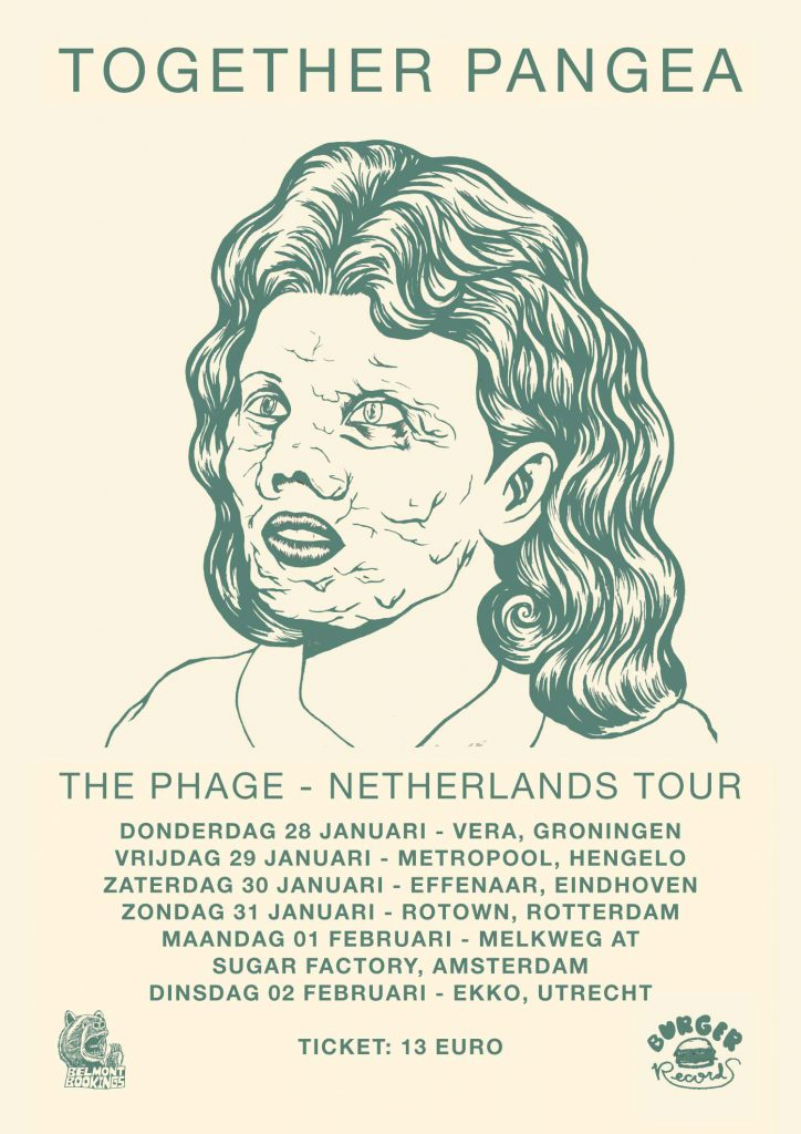 dutch tour poster (together pangea 2016)