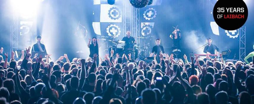 "Interview Laibach: ""In chaotische tijden zou kunst mensen wakker moeten schudden"""