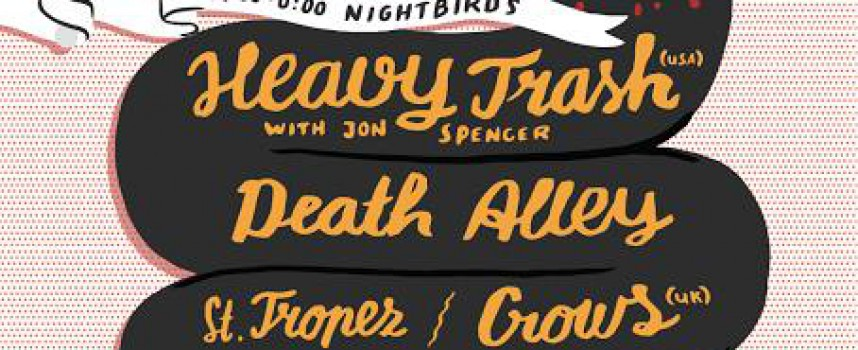 Nightbirds gooit schteviger Kingsday Festival in Grenswerk met Heavy Trash en Death Alley