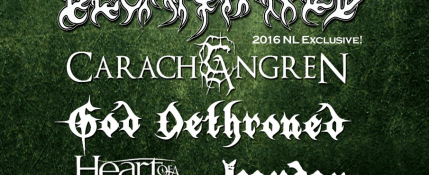 God Dethroned & Herder completeren Amsterdam Metalfest, win kaarten!