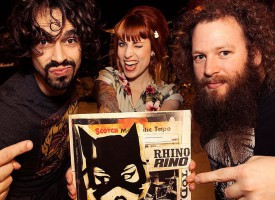 Rhinorino digitale EP primeur: 'Today', volgende week in 't echt