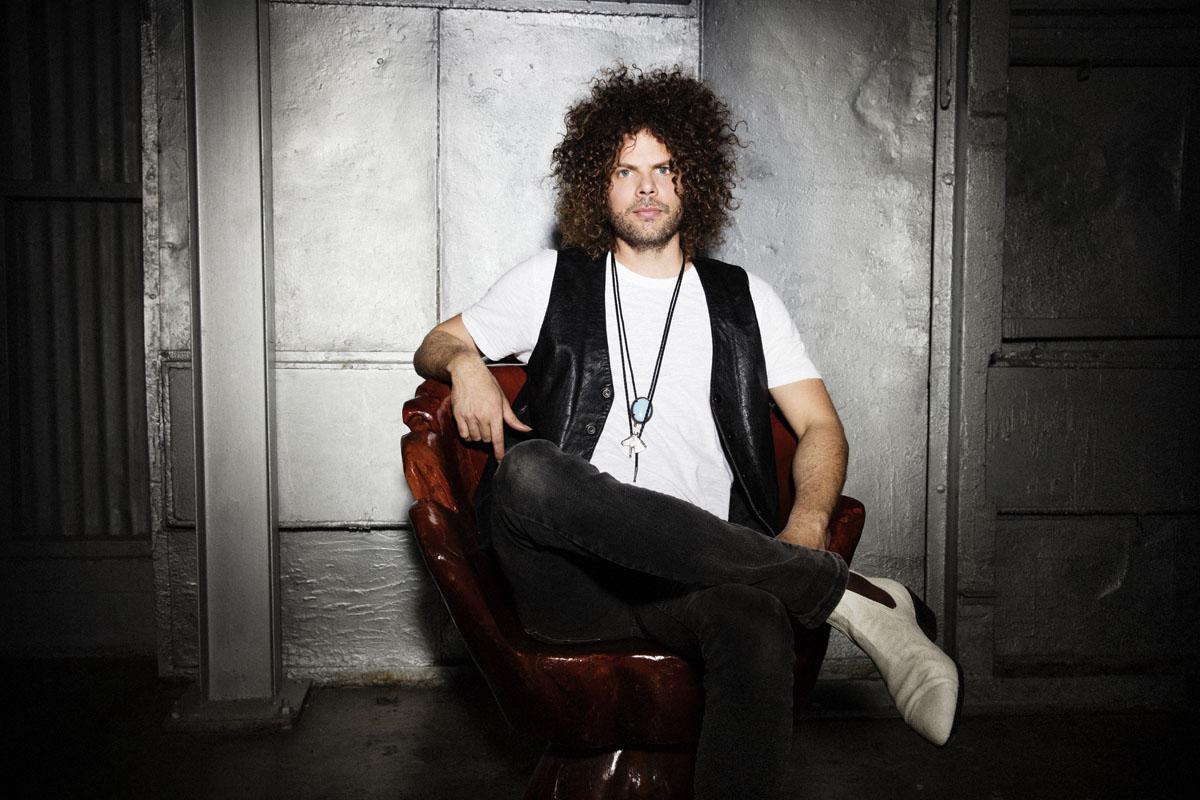 Andrew Stockdale van Wolfmother