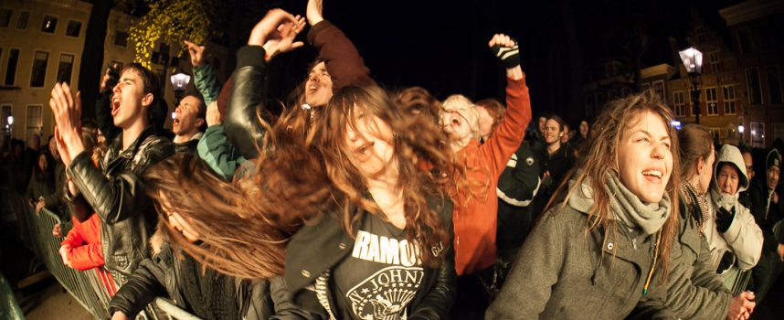 Neder-Vlaamse rock verhit NMTH-stage Life I Live op de Lange Voorhout