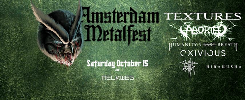 Textures headliner derde editie Amsterdam Metalfest