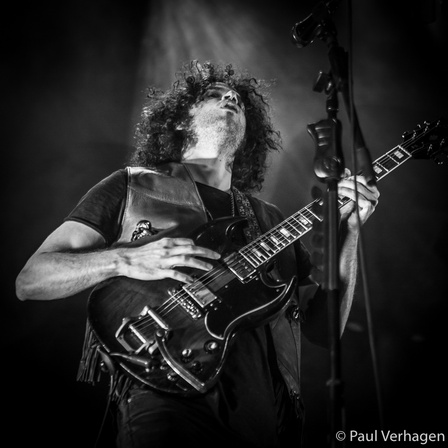 Andrew Stockdale van Wolfmother in 013, foto Paul Verhagen