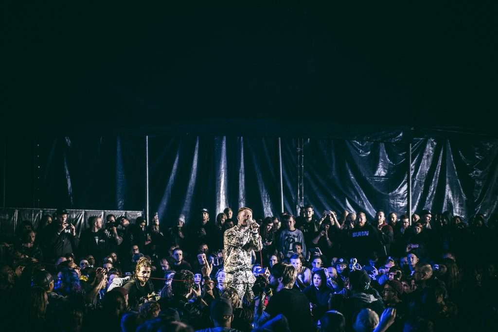 Frank Carter & The Rattlesnakes op Jera On Air, foto Dani Silvia