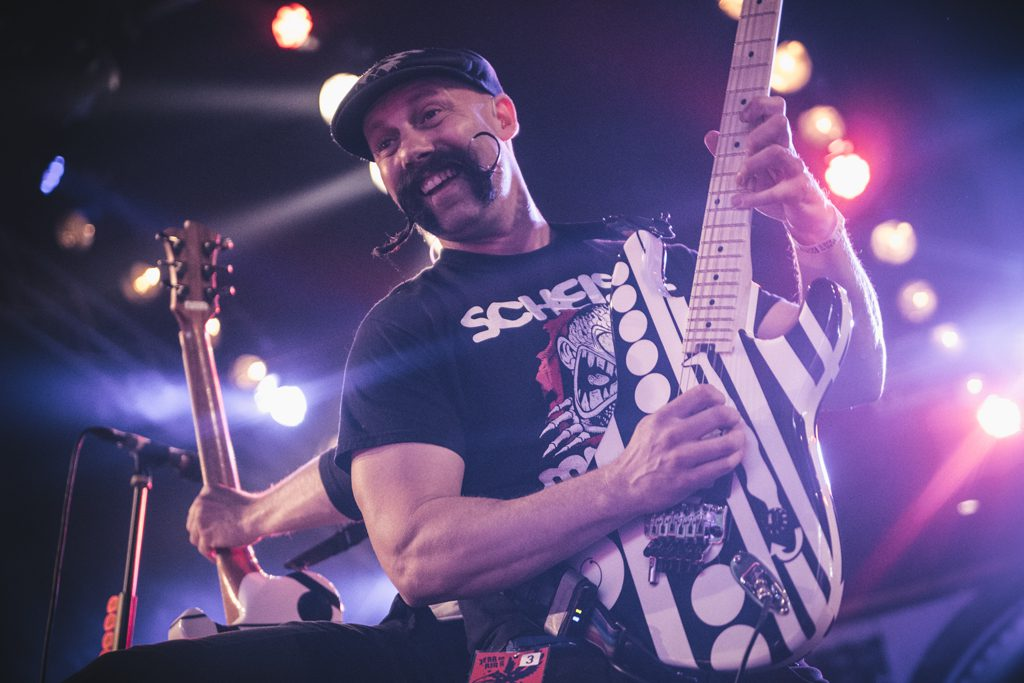 Zebrahead op Jera On Air, foto Dani Silvia