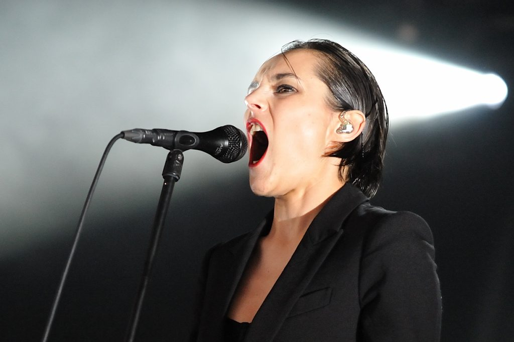 Savages op Down The Rabbit Hole, foto Christel de Wolff