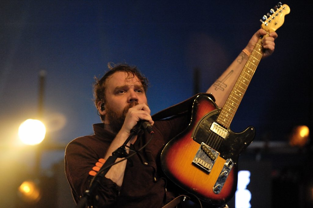 Frightened Rabbit op Down The Rabbit Hole, foto Christel de Wolff