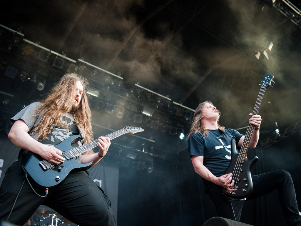 At The Gates op Dynamo Metal Fest, foto Roy Wolters