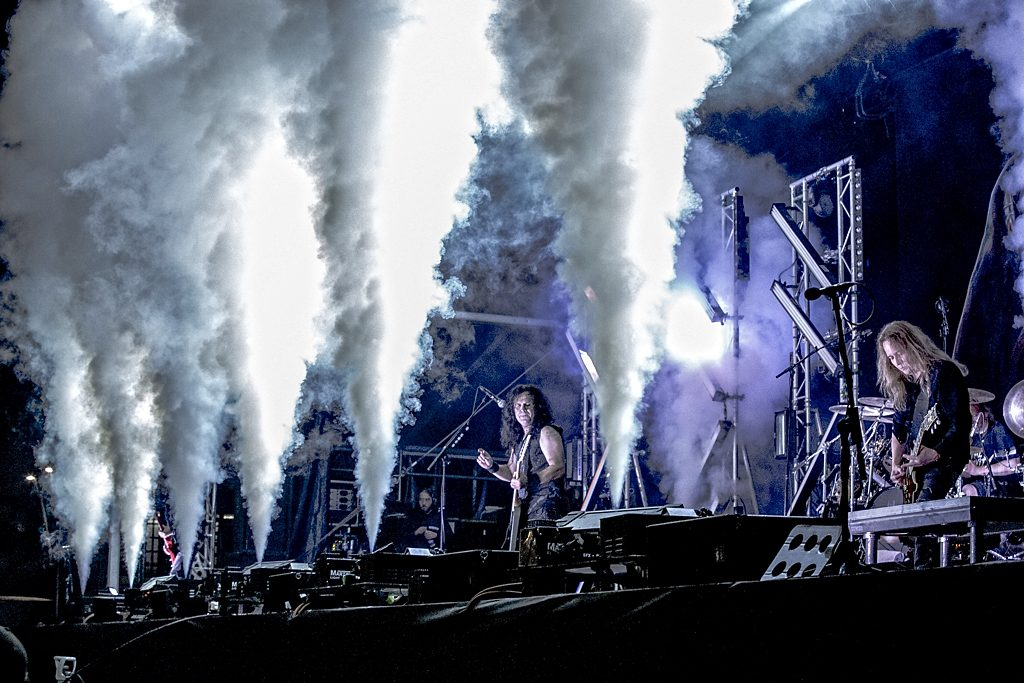 Kreator op Into The Grave, foto Rob Sneltjes