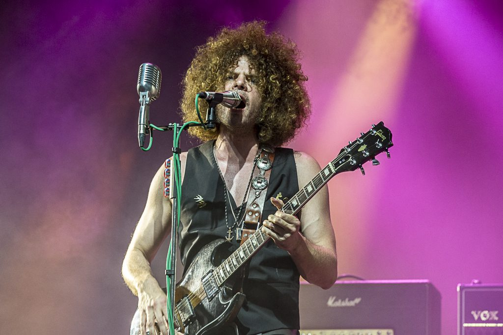 Andrew Stockdale van Wolfmother, foto: Rob Sneltjes