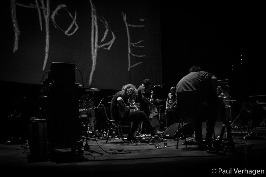 Godspeed You! Black Emperor in 013, foto Paul Verhagen