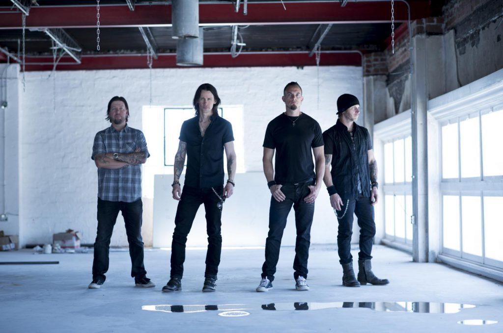 Alter Bridge, foto Carlos Amoedo