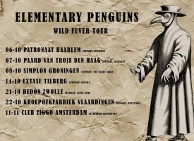 Video: The Elementary Penguins hebben Wild Fever én tweede plaat op zak
