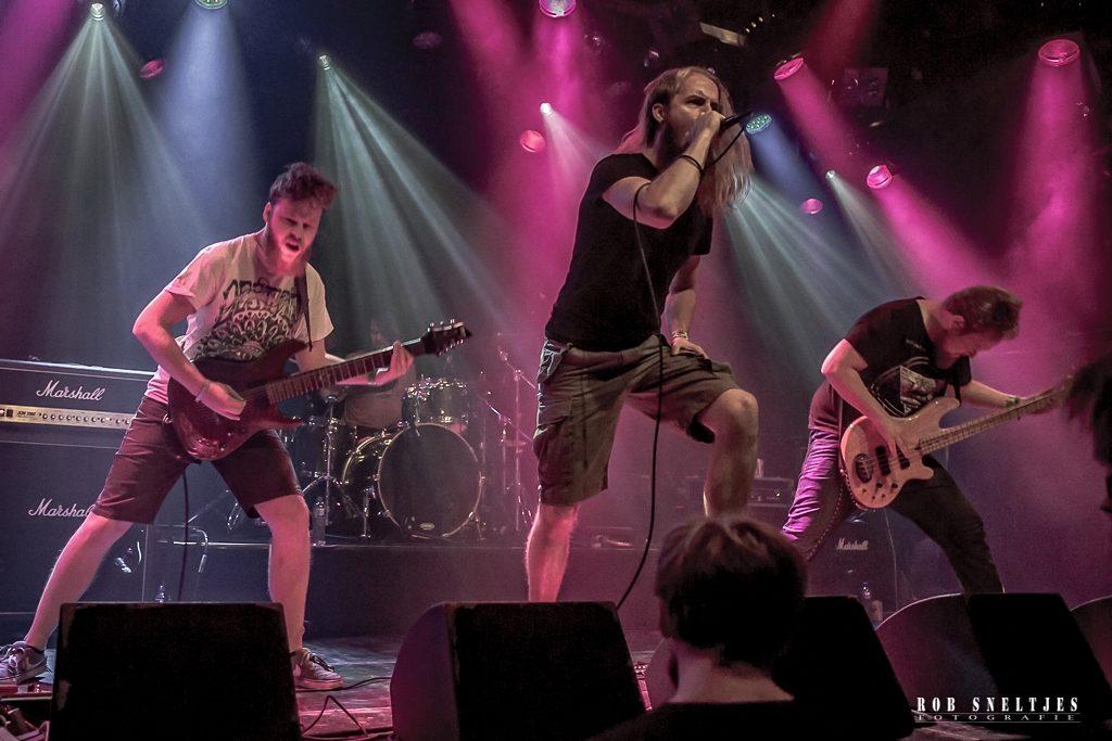 Hibakusha op Amsterdam Metalfest, foto Rob Sneltjes