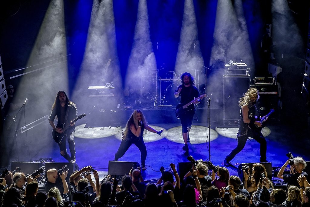 The Agonist op Epic Metal Fest 2016, foto Rob Sneltjes