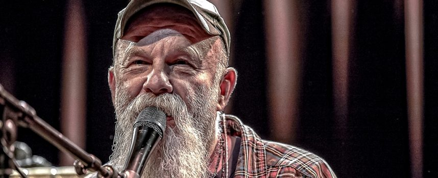 In 1 Beeld: Seasick Steve in Paradiso