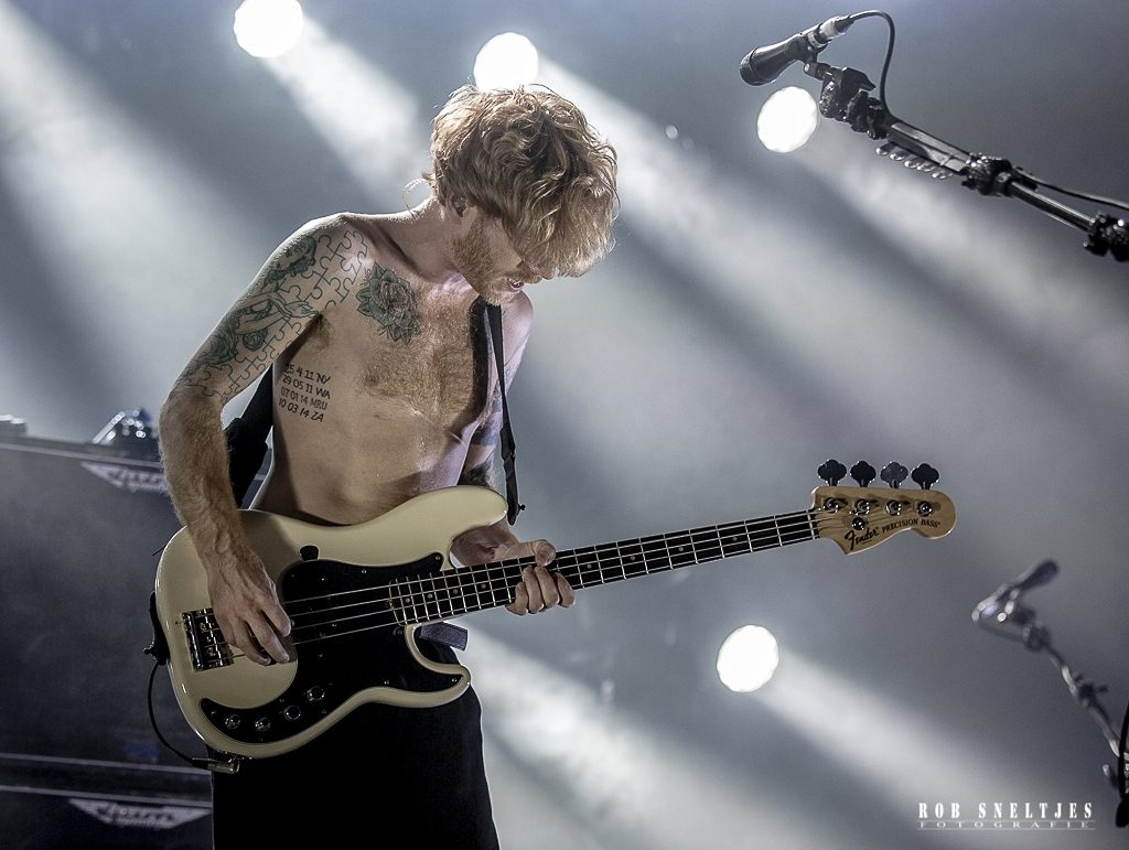 Biffy Clyro in 013, foto Rob Sneltjes