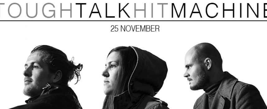 Haagse rockers Machine Makes Man debuteren met Tough Talk Hit Machine