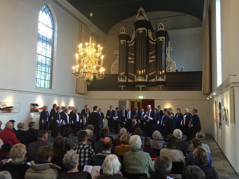 De Grote Kerk in Emmen, waar je eerder de Matthäus Passion zou verwachten