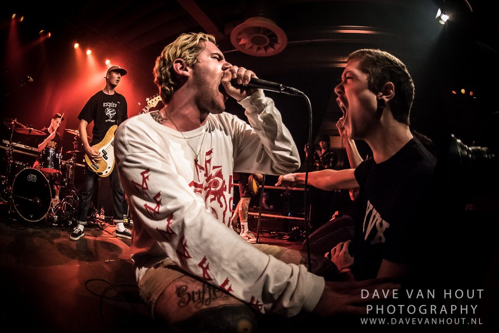 Coldburn op The Sound Of Revolution, foto Dave van Hout