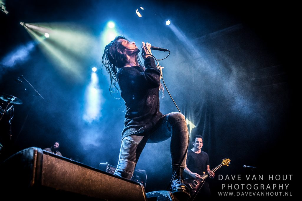 Life of Agony op The Sound Of Revolution, foto Dave van Hout