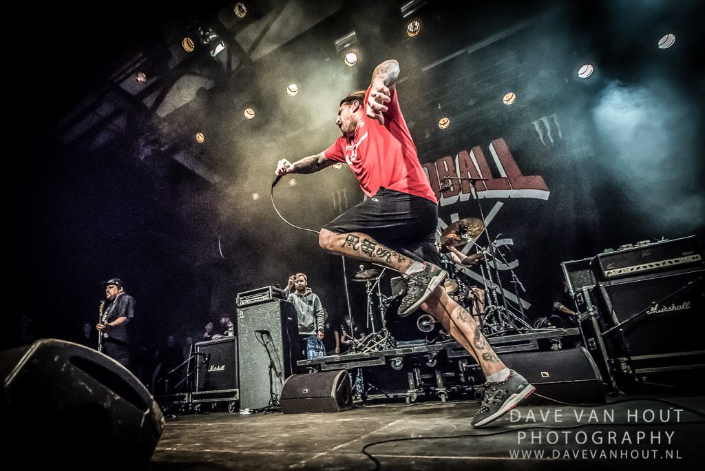 Madball op The Sound Of Revolution, foto Dave van Hout