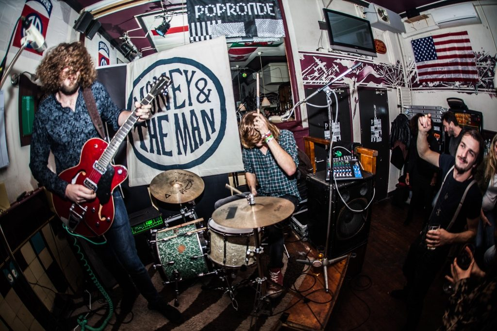 Money & The Man op Popronde Arnhem, foto Rick de Visser