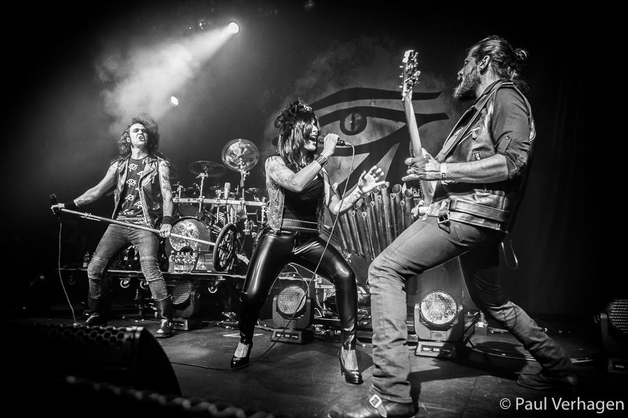 Moonspell op Eindhoven Metal Meeting, foto Paul Verhagen