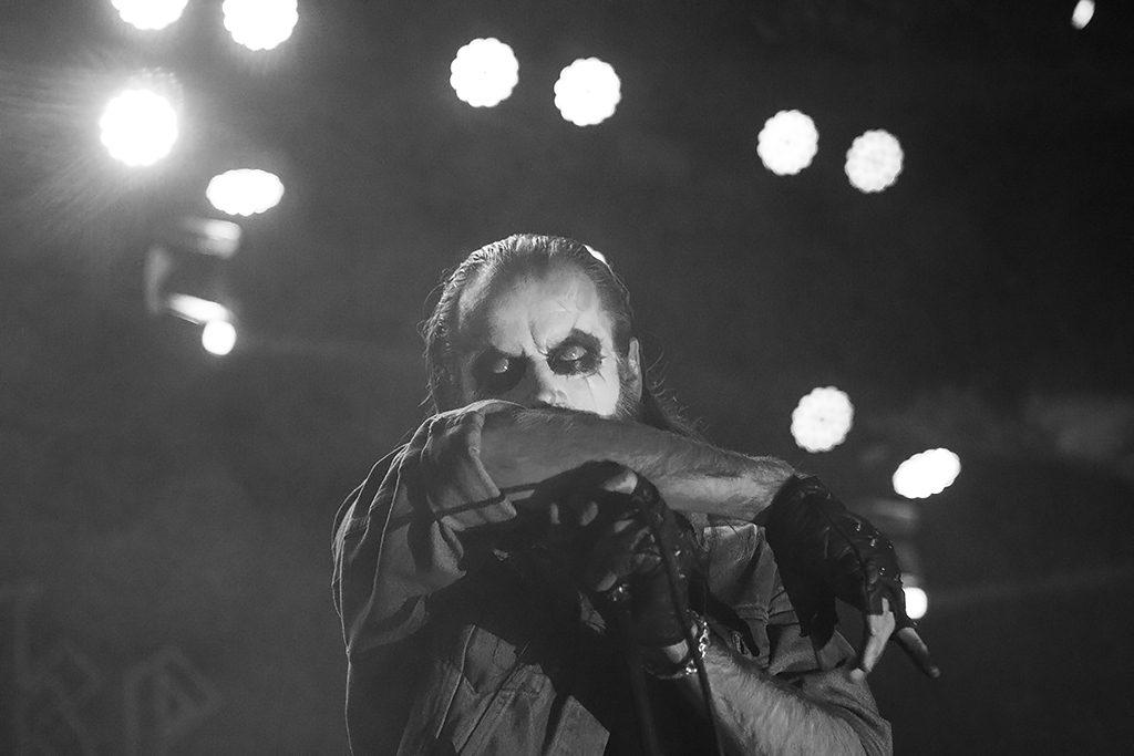 Taake op Into Darkness, foto Oscar Anjewierden