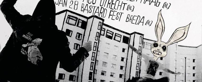 The Kendolls vat Autonomania tourwaanzin in ziedende punkrock-video: Black Sunday