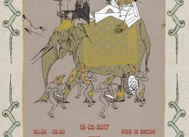 NMTH presents: Iguana Death Cult op 18 februari in Pier15, Breda