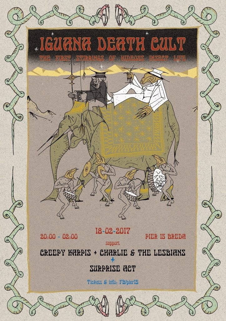 NMTH presents Iguana Death Cult