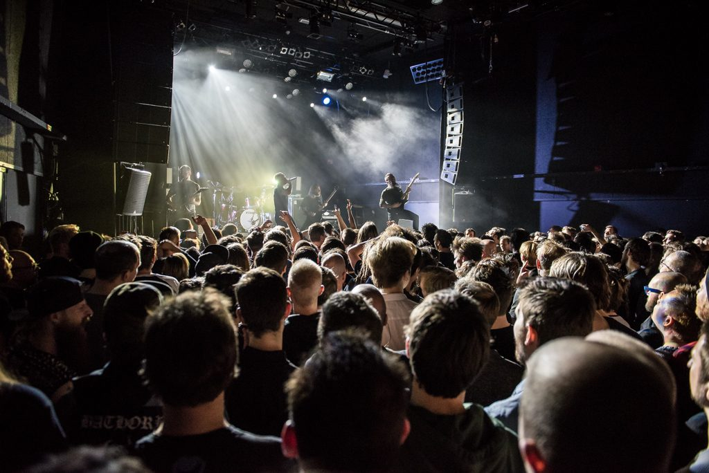 The Dillinger Escape Plan in 013, foto William van der Voort