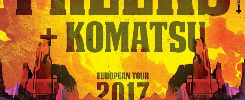 Komatsu tourt met Orange Goblin & The Freeks, rockt Paaspop en Brazilië